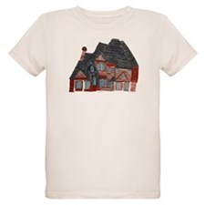 Architectural drawing by Noah Filk. Organic Kids T