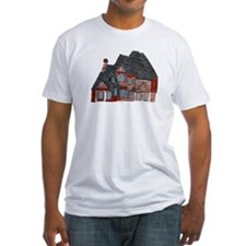 Architectural drawing by Noah Filk. Fitted T-Shirt