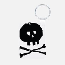 Skull and Cross Bones - Rough Keychains