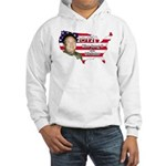 Kim Jong Il for Pres Hooded Sweatshirt