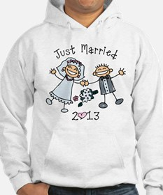 Stick Just Married 2013 Hoodie