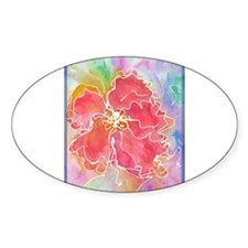 Flower! Bright floral art! Decal