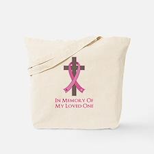 In Memory Cross Tote Bag