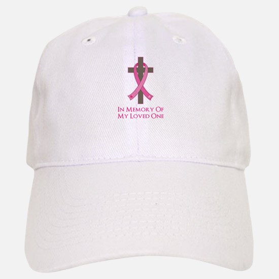 In Memory Cross Baseball Baseball Cap
