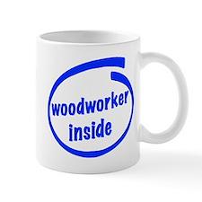 Woodworker Inside Mug