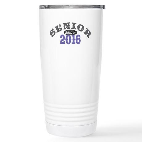 Senior Class of 2016 Stainless Steel Travel Mug