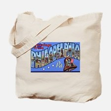 Philadelphia Pennsylvania Greetings Tote Bag