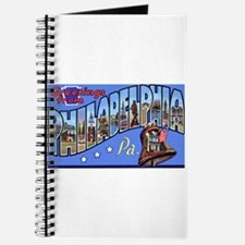 Philadelphia Pennsylvania Greetings Journal