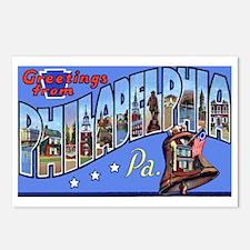 Philadelphia Pennsylvania Greetings Postcards (Pac