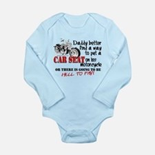 Baby Biker Attitude Long Sleeve Infant Bodysuit