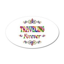 Traveling Forever Wall Decal