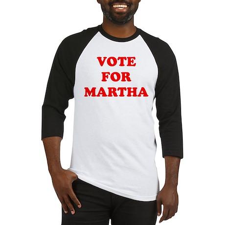 Vote For Martha Baseball Jersey