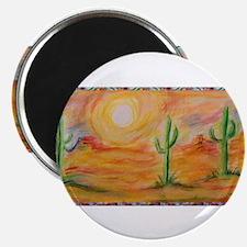 """Desert, scenic southwest landscape! 2.25"""" Magnet ("""