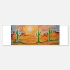 Desert, scenic southwest landscape! Bumper Bumper Sticker