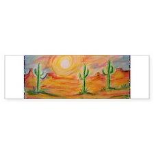Desert, scenic southwest landscape! Bumper Sticker