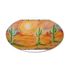 Desert, scenic southwest landscape! Wall Sticker