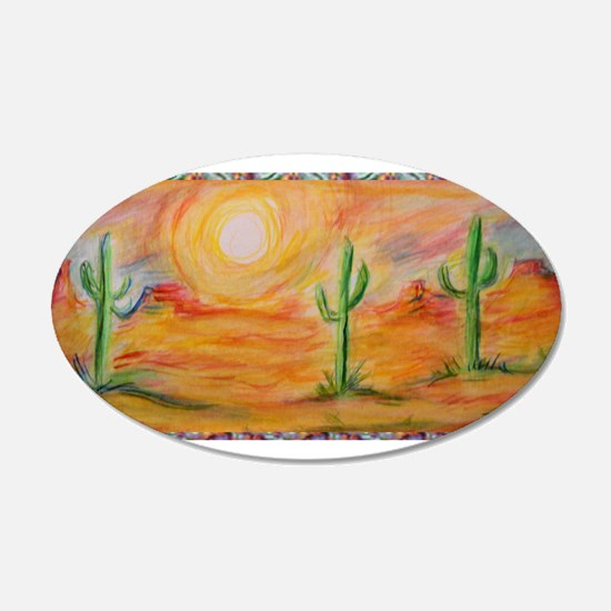 Desert, scenic southwest landscape! Wall Sticker