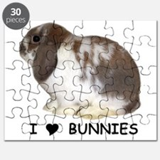 i love bunnies Puzzle