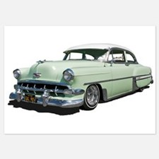 1954 Chevy Bel Air Invitations
