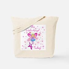 Birthday Angel 4th Birthday Tote Bag
