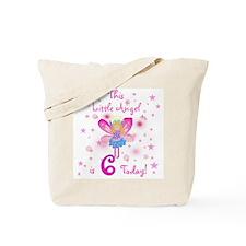 Birthday Angel 6th Birthday Tote Bag