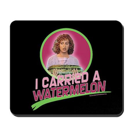 I Carried a Watermelon Mousepad