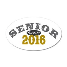 Senior Class of 2016 Wall Decal