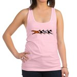 Group O' Shelties Racerback Tank Top