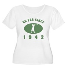 1942 Golfer's Birthday T-Shirt