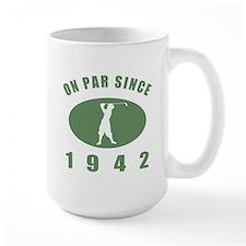 1942 Golfer's Birthday Coffee Mug