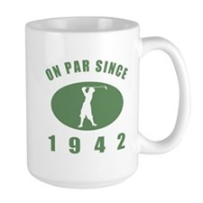 1942 Golfer's Birthday Mug