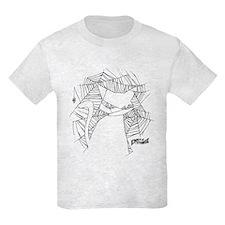 Cat Web Kids Light T-Shirt