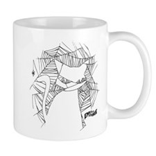 Cat Web Small Mug