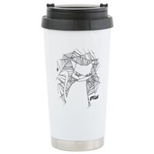 Cat Web Stainless Steel Travel Mug