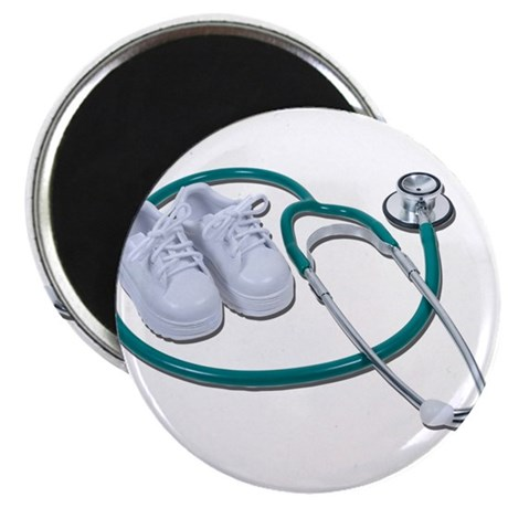 Stethoscope and White Shoes Magnet