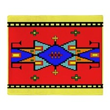 Lakota Dreams Blanket Design Throw Blanket