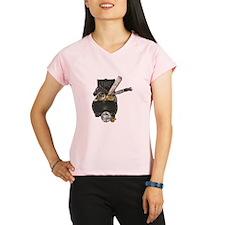 Treasure Chest Map Dagger Performance Dry T-Shirt