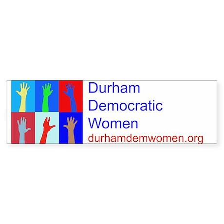 DDW logo Sticker (Bumper)