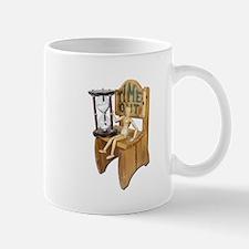 Sitting Timeout Chair Hour Glass Mug