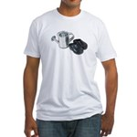 Watering Can Clogs Fitted T-Shirt