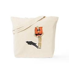 Wearing Life Preserver Tote Bag