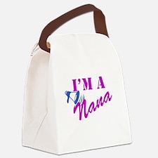 Im A Nana Canvas Lunch Bag
