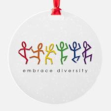 gay pride dance Ornament