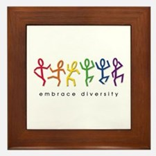 gay pride dance Framed Tile