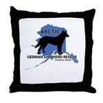 Rescue Logo Throw Pillow