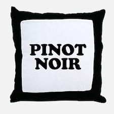Pinot Noir Throw Pillow