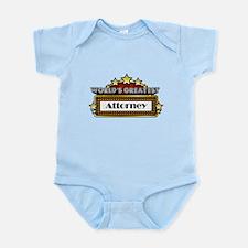 World's Greatest Attorney Infant Bodysuit
