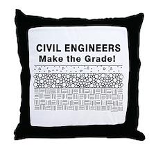 Civil Engineers Throw Pillow
