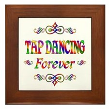 Tap Dancing Forever Framed Tile