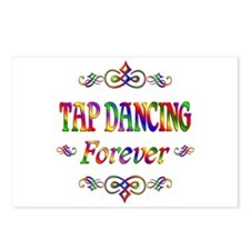Tap Dancing Forever Postcards (Package of 8)